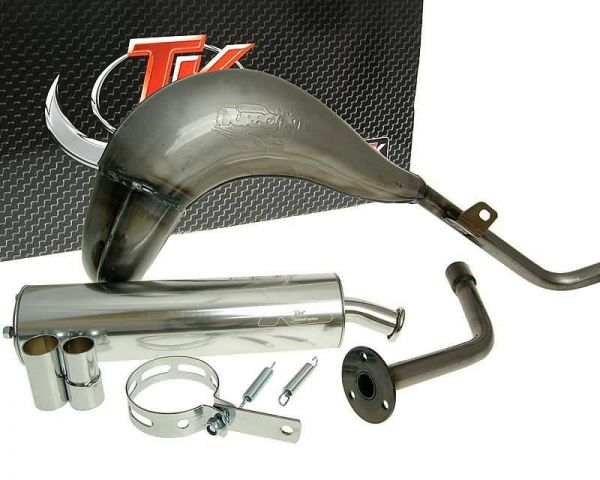 Turbo Kit Bufanda R Sport Auspuff Beta RRT RR ALU 03-15 AM6 50 2T