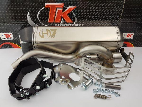 Turbo Kit H7 Sport Auspuff APRILIA SCARABEO PIAGGIO BEVERLY 500 500i