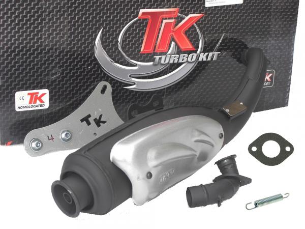 auspuff turbo kit tkr peugeot speedfight trekker vivacity stehend 50