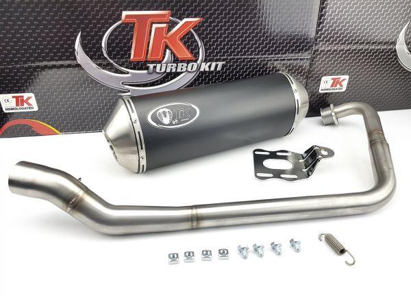 Turbo Kit Road Edelstahl Sport Auspuff Honda CBF 125 CB 125 F 4T