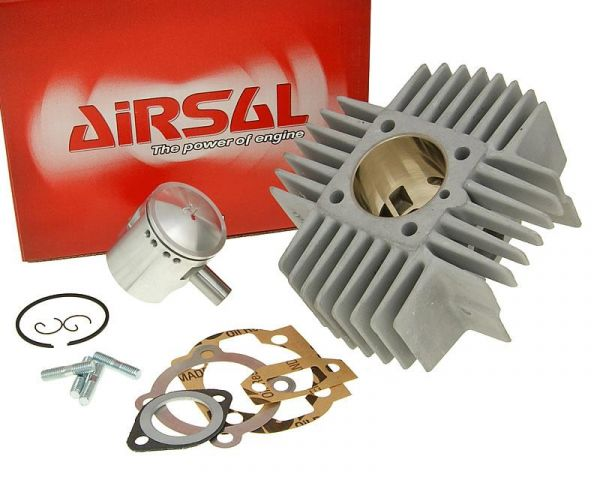 Zylinder Airsal ALU SPORT 70ccm Puch Maxi N S X 50 AC 2T Zylinder