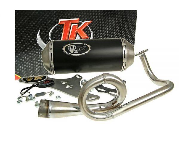Turbo Kit GMax Auspuff DAELIM S4 Kymco MTR Peugeot RIEJU SYM 50 4T AC