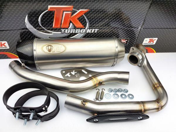 Turbo Kit Carbon H2 Sport Quad ATV Auspuff Suzuki LTZ Kawasaki KFX 400
