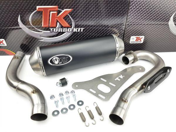 Auspuff Turbokit Sport Edelstahl Auspuffanlage Kawasaki KFX 450 R QUAD