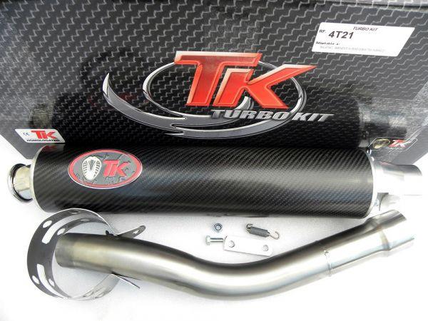 Turbo Kit Road GC Sport Auspuff Suzuki Bandit N 600 GSX 750 NAKED