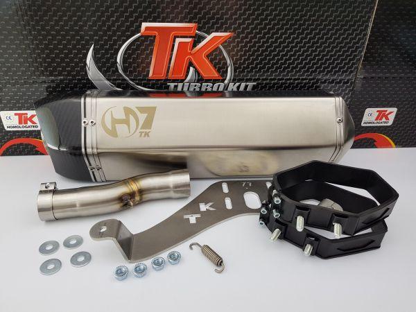Turbo Kit GMax H7 Carbon Sport SLIP-ON Auspuff SYM Maxsym 600 16-17