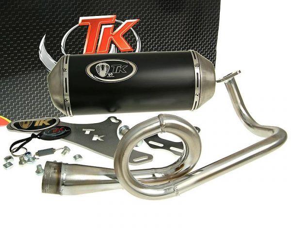 Turbo Kit GMax 4 Takt Sport Auspuff SYM Sanyang Fiddle 2 Symply 50 4T