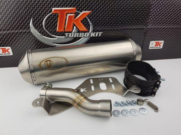 Turbo Kit GMax Edelstahl Sport SLIP-ON Auspuff Maxsym 400i 400 ab 2011