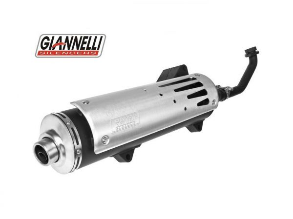 Sportauspuff Giannelli Freeway SUZUKI BURGMAN 250 98-02 K1 K2 AN250 4T