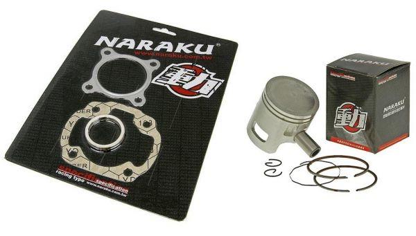 Kolben Kit 70ccm für Naraku V.2 NK100.73 Kymco liegend AC SF10 50 2T