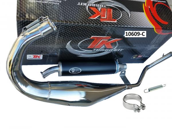 Auspuff Turbo Kit Road R Chrom Sport CAGIVA MITO EVO 125 2T 94-12 2T