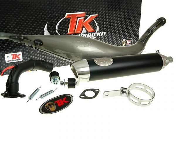 Turbo Kit Sport für Kwang Yang Auspuff Kymco MXU 50 2T AC Quad ATV