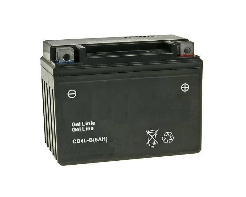 Batterie für YAMAHA 100ccm Neo s 100 Baujahr 2000-2004 YTX4L-BS