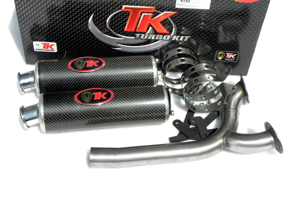 Turbo Kit Road GC Sport Auspuff Yamaha FZS Fazer 600 06 07 08 09 10 11