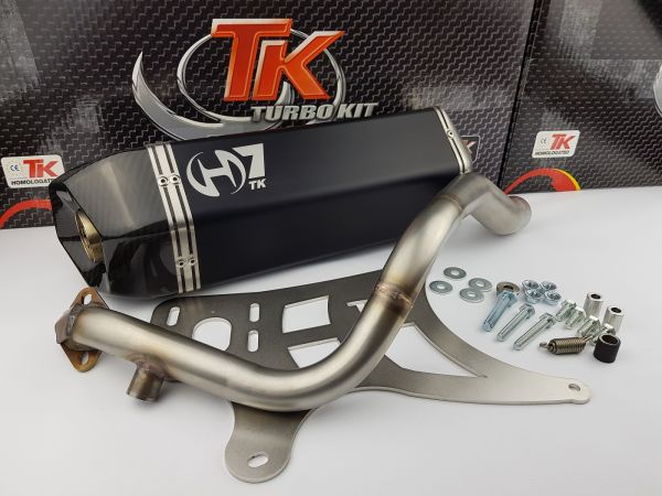 Auspuff Turbo Kit Carbon H7 Sport Kymco Grand Dink S4 125s 125i bis 08