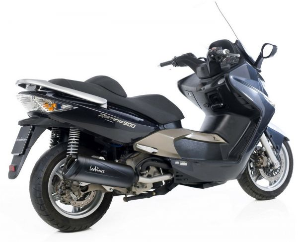 Auspuff Leovince Granturismo Black Kymco Xciting EVO R ABS 500i ab 04