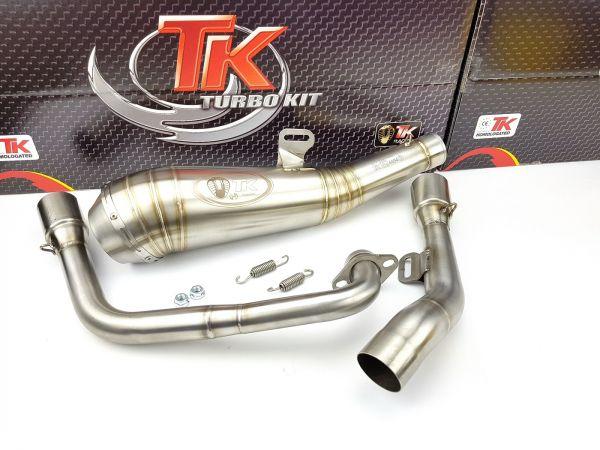 Turbo Kit Edelstahl GP Sport Auspuff Yamaha YZF 125R 125 R MT 14-20 4T