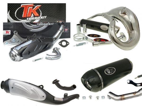 Auspuff Anlagen Ersatz und Sport Turbo Kit TK TKR auch in Edelstahl