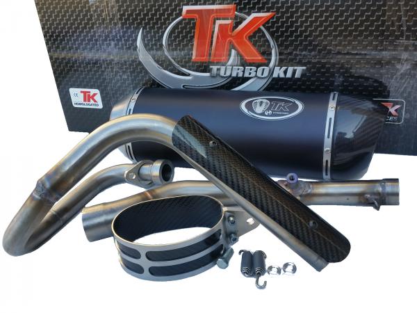 Turbo Kit X-Road Carbon Auspuff Yamaha WR125R Enduro WR125X SM 125 4T