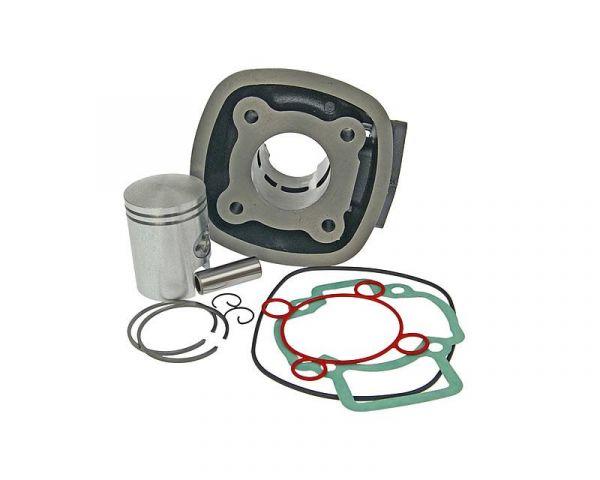 Zylinder Kit 50ccm Aprilia Derbi Gilera Vespa Piaggio 50 LC 4-Eckig