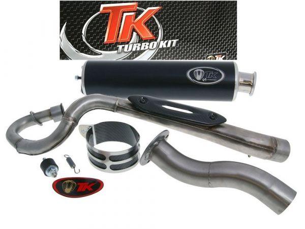 Turbo Kit Edelstahl Sport Quad / ATV Auspuff Kymco MXer MXU 4T 150