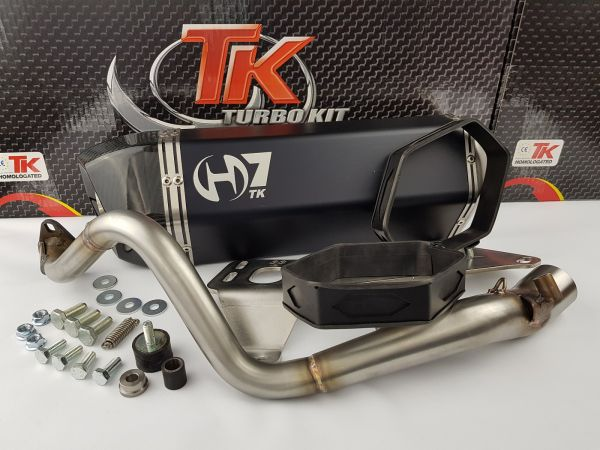 Turbo Kit GMax H7 Sport Auspuff Honda @ Nes Passion Scoopy 125-150 4T