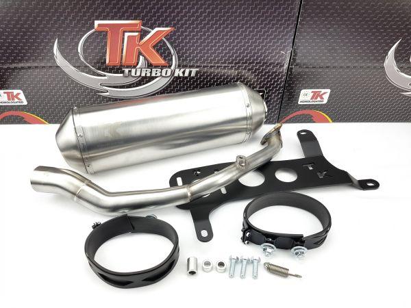 Turbo Kit GMax Sport Edelstahl Auspuff Kymco Agility City 125i ab 2017