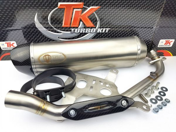 Turbo Kit GMax H2 Carbon Sport Auspuff Kymco Xciting 400 400i ab 14