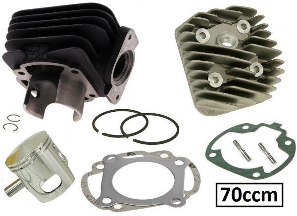 Zylinder Kit DR Evolution 70ccm Sport Honda Bali SFX SXR SGX Sky 50 AC