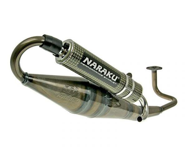 Auspuff NARAKU Crossover Carbon/Kevlar Sport 139QMB/QMA GY6 4T 50