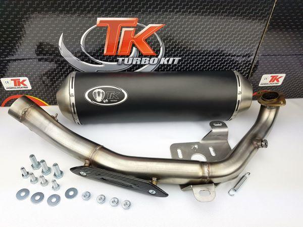 Turbo Kit GMax 4T Sport Auspuff Kymco Xciting 500 500i M4T032-N