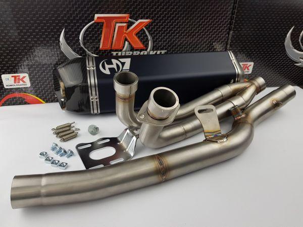 Turbo Kit G-Max H7 Carbon Sport Auspuff Suzuki Burgman 650 AN650 02-09