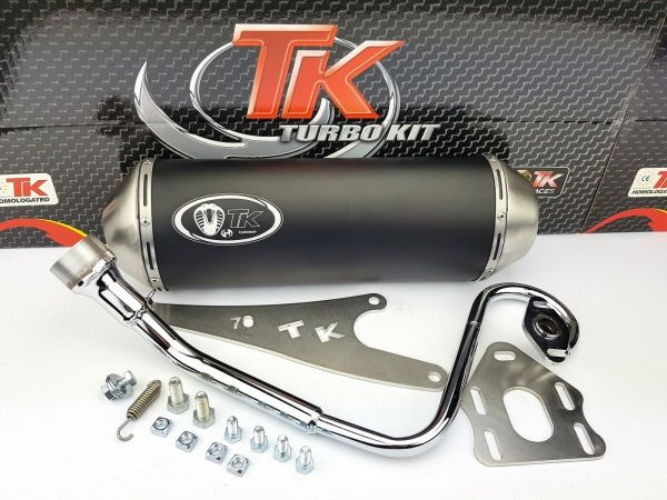 Turbo Kit GMax Sport Edelstahl Auspuff Honda Vision Nsc 4 Takt 50 4T