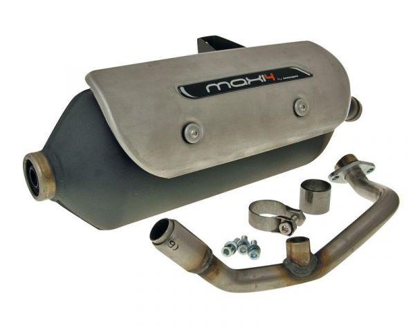 Auspuff Tecnigas NEW Maxi 4 N Suzuki Burgman 125i 150i K8 K9 K10 K11
