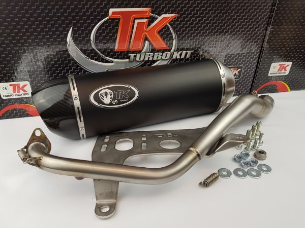 Turbo Kit GMax H2 Sport Auspuff Kymco K-XCT 125i 125 KXCT 4T ab 2013