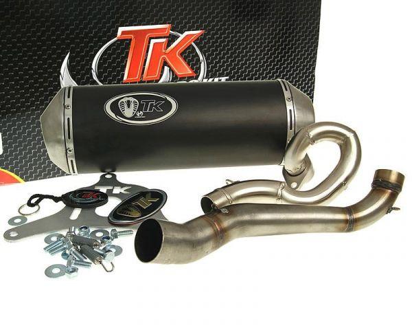 Turbo Kit GMax Sport Auspuff Suzuki Burgman 125 UH125 -06 K4 K5 K6 4T