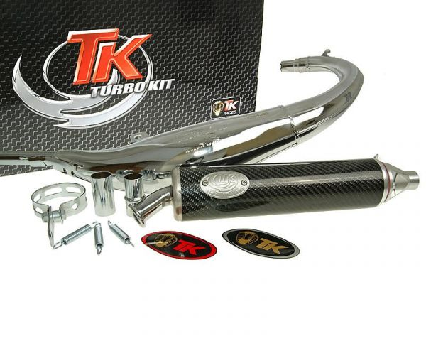 Sport Auspuff Turbo Kit Road RQ Chrom/Carbon Aprilia RS 50 94-98 AM6