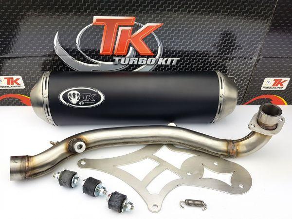 Turbo Kit GMax Sport Auspuff Suzuki Burgman 400 AN400 4T 07-16