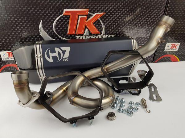 Turbo Kit GMax H7 Sport Auspuff GILERA NEXUS RUNNER VX VXR VR 125 4T