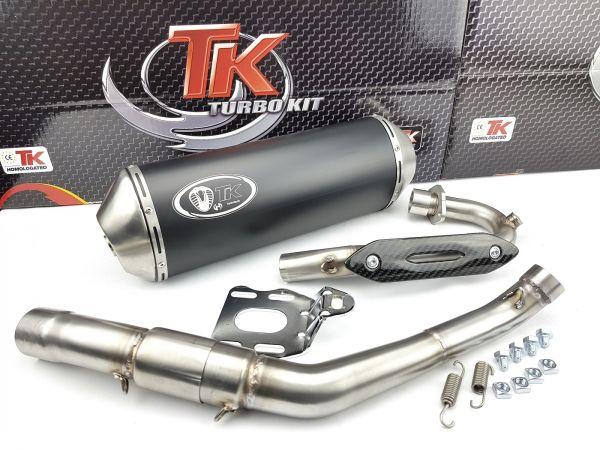 Turbo Kit Edelstahl Sport Auspuff UM DSR Derbi Terra Adventure 125 4T
