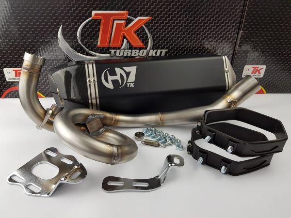 Turbo Kit GMax H7 Sport Auspuff Aprilia Derbi Piaggio X7 X8 MP3 125 LC