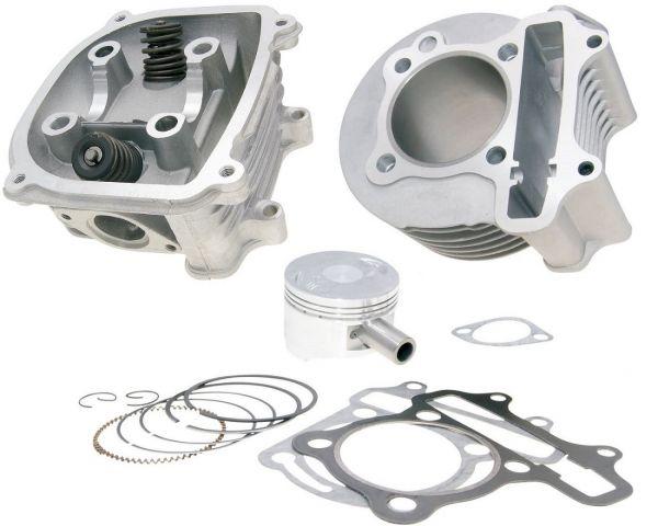 Zylinder Sport 150ccm + Kopf ohne SLS Aeon Baotian Kymco REX 125 150