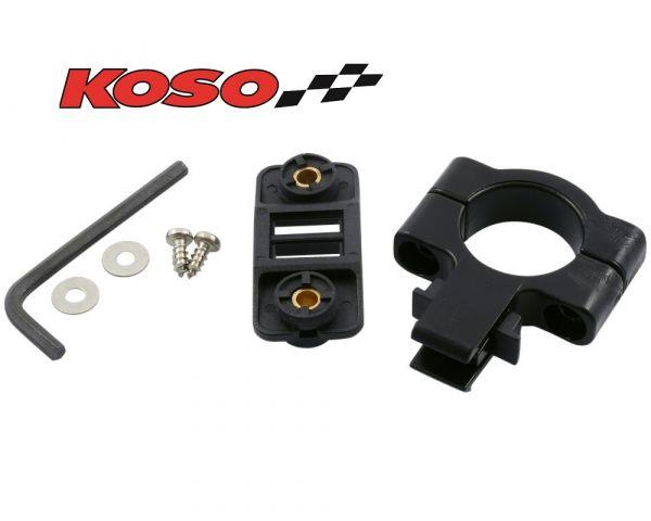 """Ersatz Halter 1 1/8"""" ab 22mm für KOSO Tachometer DB-01R+ DB01R+"""