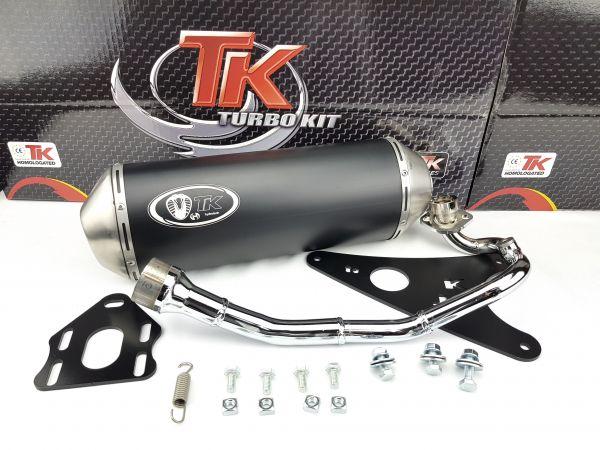 Turbo Kit GMax Sport Auspuff MBK Ovetto Yamaha Aerox Neos Vino 50 4T