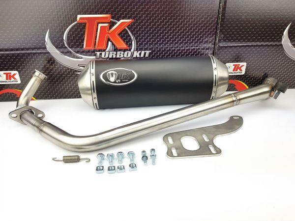 Turbo Kit X-Road Sport Edelstahl Auspuff Yamaha YBR 125 4T Motorrad