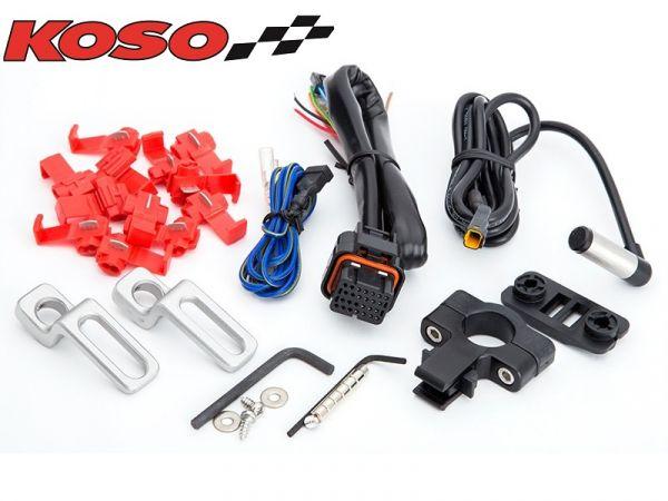 Zubehör KOSO für DB01R+ Halter Kabelbaum Geschwindigkeitssensor Halter