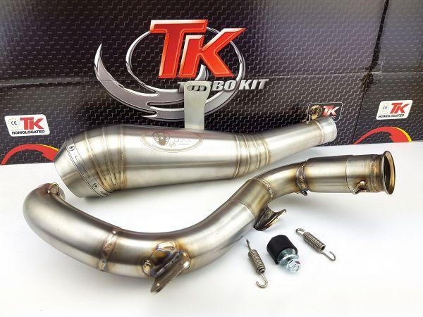 Turbo Kit ROAD GP Edelstahl Sport Auspuff KTM Duke 125i 17-20 4T