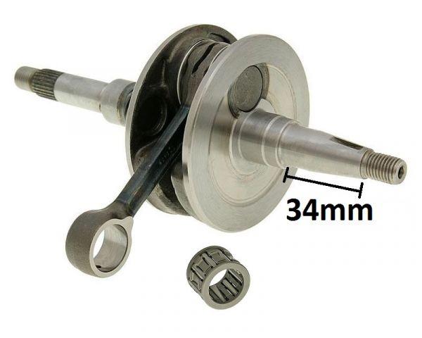 Kurbelwelle standard mit 34mm Stumpf Honda Dio ZX 50 94- AF34/AF35 50