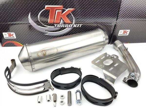 Turbo Kit SLIP-ON Sport Auspuff Piaggio X9 500 500i 4T 01 02 03 04