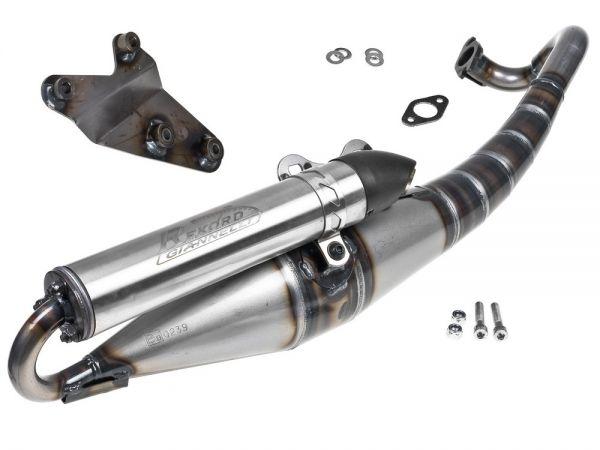 Auspuff Giannelli Reverse Sport Aprilia SR50 Suzuki Katana